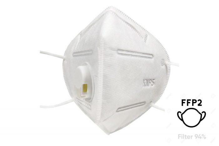 FFP2 Einwegmasken mit Ventil